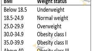 بررسی و انتخاب ترازو قد و وزن با محاسبه BMI